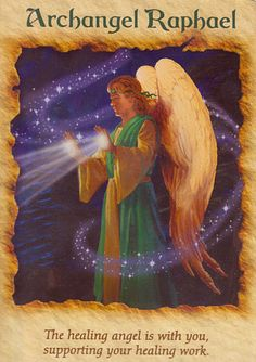 Angel Cards and Messages ♥ Arc Raphael. SOmetimes I get to ask as if my ideas were from somewhere else, they don't sound the way I'd think them in my head! Maybe it was a voice speaking from somewhere far. A divine.