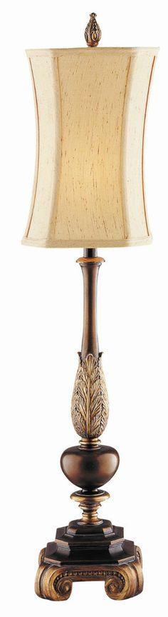 Antique Table Lamp Brass Art Deco Glass Desk Light Shade Base Mid Century Lamps #ArtDeco