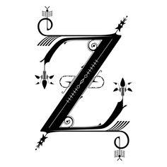 Lovely Letterforms by Sam Edwards, via Behance