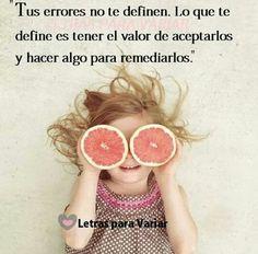 Tus errores no te definen*