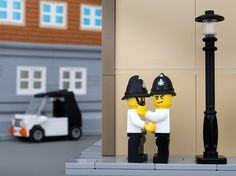 Classic Pieces Of Banksy Street Art Recreated In LEGO