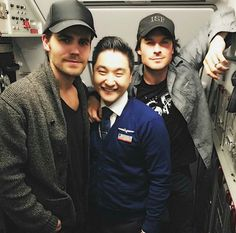 Ian & Paul at Chicago Airport 2/4/17