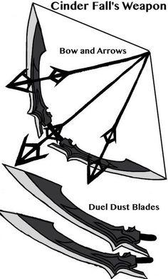 rwby cinders weapon
