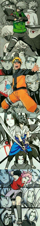 Team Kakashi - Naruto