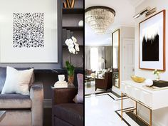 Luxe Finishes - Home Tour: A Sleek and Sophisticated Toronto Home - Photos