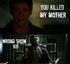 Hahaha this is so funny!!! LOL #TheFlash #Arrow #fanmade