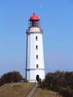 Leuchtturm Dornbusch Insel Hiddensee ...