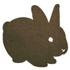 gorgeous Rabbit stamp