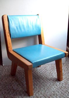 Sale Mid Century Modern vintage childs chair by TheSame on Etsy, $45.00