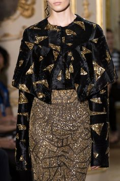 J. Mendel at Couture Fall 2016 (Details)