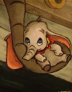 Dumbo. Baby Mine :) Every time I think of this movie, I remember how it broke your heart when they separated him from his Mama. I had to promise you it would all work out by the end, because you were nearly inconsolable.