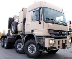 Mercedes Benz Twin Steer Military Semi Truck