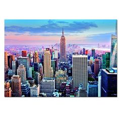 Educa - Jigsaw Puzzle - 1000 Pieces - Midtown Manhattan, New York - Jigsaw Puzzle Road
