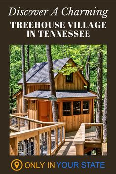 Take a unique vacation to a beautiful treehouse village in Tennessee. You'll be surrounded by nature with all the comforts of home. There are 8 luxury treehouses to choose from which will upgrade your outdoor experience from camping to glamping. Enjoy a romantic weekend or family getaway!