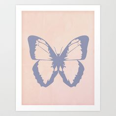 Butterfly #3 Art Print by Arielle Levin - $16.00