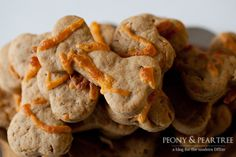 Cheddar Peanut Butter Dog Treats