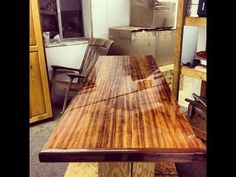 Http://www.canadianwoodworks.com Iu0027ve Been Working On A · Epoxy Table TopBar  ...