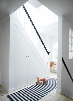 9 astuces pour am nager un espace fut sous l 39 escalier d co pinterest stair storage under. Black Bedroom Furniture Sets. Home Design Ideas
