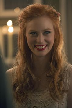 Pin for Later: True Blood: All the Pictures From Jessica and Hoyt's Surprise Wedding  Jessica is glowing.
