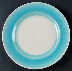 Roscher Blue Crackle Dinner Plate