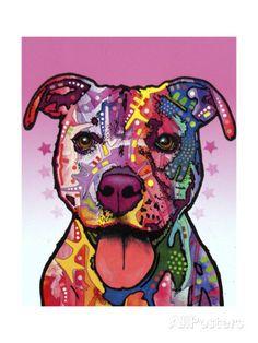 Cherish the Pitbull Impression giclée par Dean Russo sur AllPosters.fr