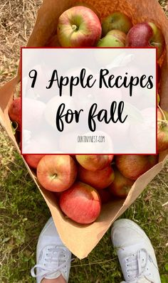Here are 9 of the best apple recipes for fall as well as some apple decor and crafts #fallrecipes #falldecor #applerecipes #applecrafts #applediy #applepie #applecrisp #applenachos Best Apple Recipes, Healthy Recipes, Baking Recipes, Cinnamon French Toast, Cinnamon Apples, Apple Decorations, Halloween Baking, One Pot Dishes, French Toast Casserole
