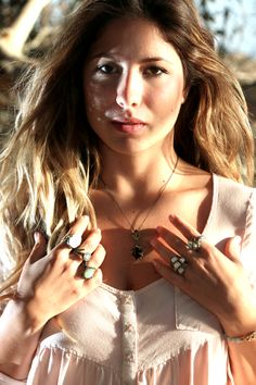New collection sterling silver rings  + necklace