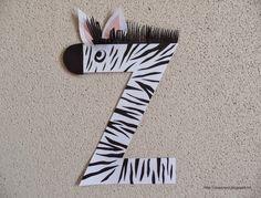 Clasa pregatitoare: Litera Z de la zebra