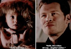 "#TheOriginals 3x16 ""Alone With Everybody"" - Klaus and Hope"