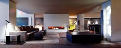 The super chic lobby at the Hotel Omm, Barcelona.