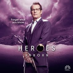 At the San Diego Comic-Con today, NBC debuted the new Heroes Reborn Comic-Con trailer. Heroes Reborn will air on Thursdays at 8 p. Reborn Comic, Jack Coleman, Hero Tv Show, Heroes Tv Series, Motion Poster, Heroes Reborn, Toronto Film Festival, Series Premiere, New Shows