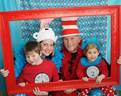 Dr. Seuss Party Photo Booth