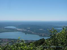 Lago di Varese dal piazzale dell'osservatorio del Campo Dei Fiori