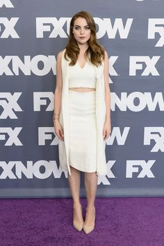 Elizabeth Gillies Photos - Actress Elizabeth Gillies attends the FX Networks TCA 2016 Summer Press Tour on August 2016 in Beverly Hills, California. Elizabeth Gillies 2016, Office Outfits, Chic Outfits, Liz Gilles, Queen Liz, Celebrity Red Carpet, Celebrity Outfits, Celebs, Celebrities