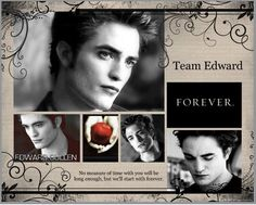 """""""No measure of time with you will be long enough, but we'll start with forever."""" ~ Edward"""