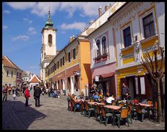 Peaceful morning, Szentendre - Szentendre, Pest