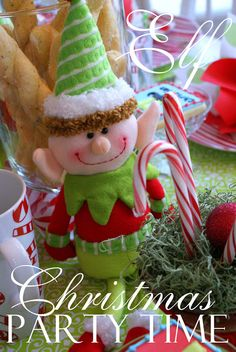 A Little Loveliness: Elf Movie Christmas Party