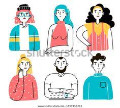 Female Avatar, Men And Women, Vector Design, Drug Packaging, Royalty Free Stock Photos, Character Design, Portraits, Comics, Illustration