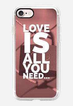 Casetify iPhone 7 Classic Grip Case - Love is all you need by Edward Fielding #Casetify