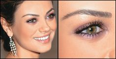 Mila's eye makeup