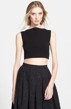 Michael Kors Boatneck Crop Top available at #Nordstrom