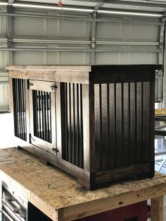 Dog Kennel Furniture Diy How To Build . Dog Kennel Furniture Diy dog kennel furniture diy how to build – dog kennel furniture di Metal Dog Kennel, Diy Dog Kennel, Kennel Ideas, Indoor Dog Kennels, Custom Dog Kennel, Dog Kennel Designs, Pet Kennels, Building A Dog Kennel, Dog Crate Furniture