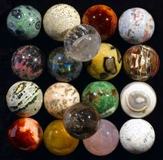 Mineral spheres... I want them... is that bad??