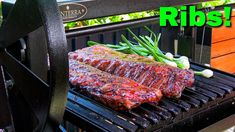 Mayan Grilled Baby Back Ribs.  I took two beautiful racks of baby back ribs and grilled them, low n slow on the Argentine Grill with some fantastic Mexican flavors. Barbecue Recipes, Bbq, Grilled Baby Back Ribs, Argentine Grill, Smoking Meat, Pork Ribs, Served Up, Steak, Grilling