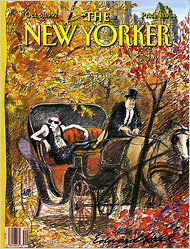 Editor Tina Brown's first New Yorker cover (Oct. 5, 1992).