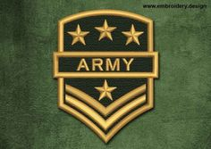 Design embroidery Military, Security Patch Army Patch Design