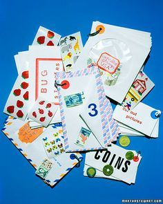 envelope books: for kids, for memories, for recipes, for scrapbooks, for receipts, for coupons, so many uses...