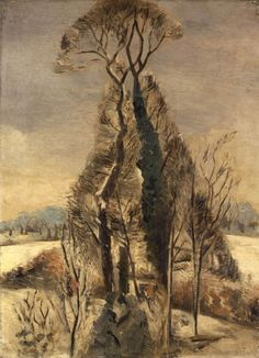 Paul Nash #tree #landscape #art