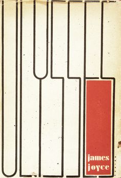 Ulysses (1934), hand-lettered and designed by Ernst Reichl, was said to be influenced by the paintings of Piet Mondria
