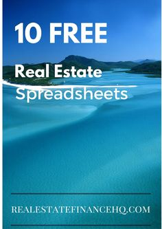 10 AWESOME Real Estate Spreadsheets for your business NO EMAIL Opt-In Required  Direct Download